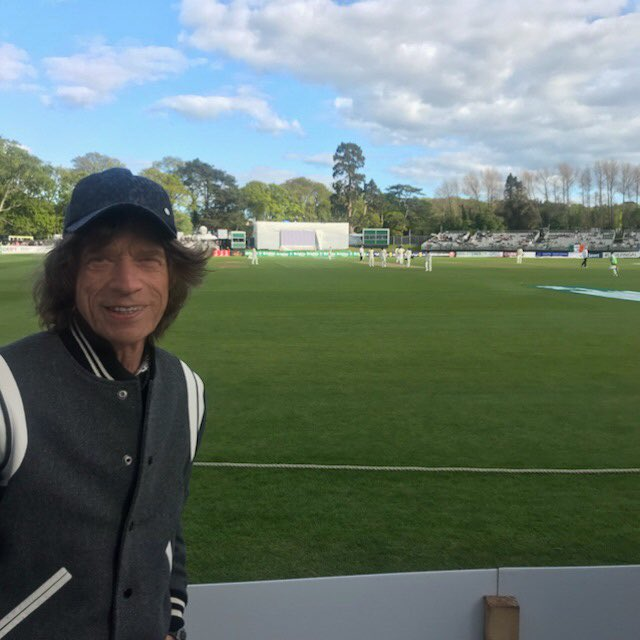 It's great to be back in Ireland, first stop was their inaugural cricket test match versus Pakistan #cricket #Ireland