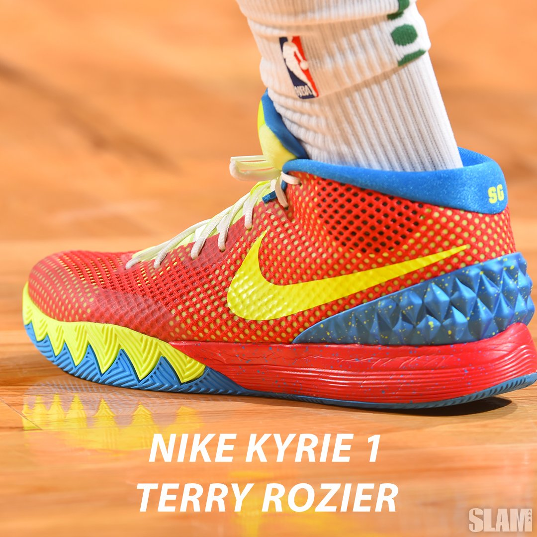 "1e4f5a31d527 Uživatel SLAM na Twitteru  ""Terry Rozier brought the Kyrie 1 out today.… """