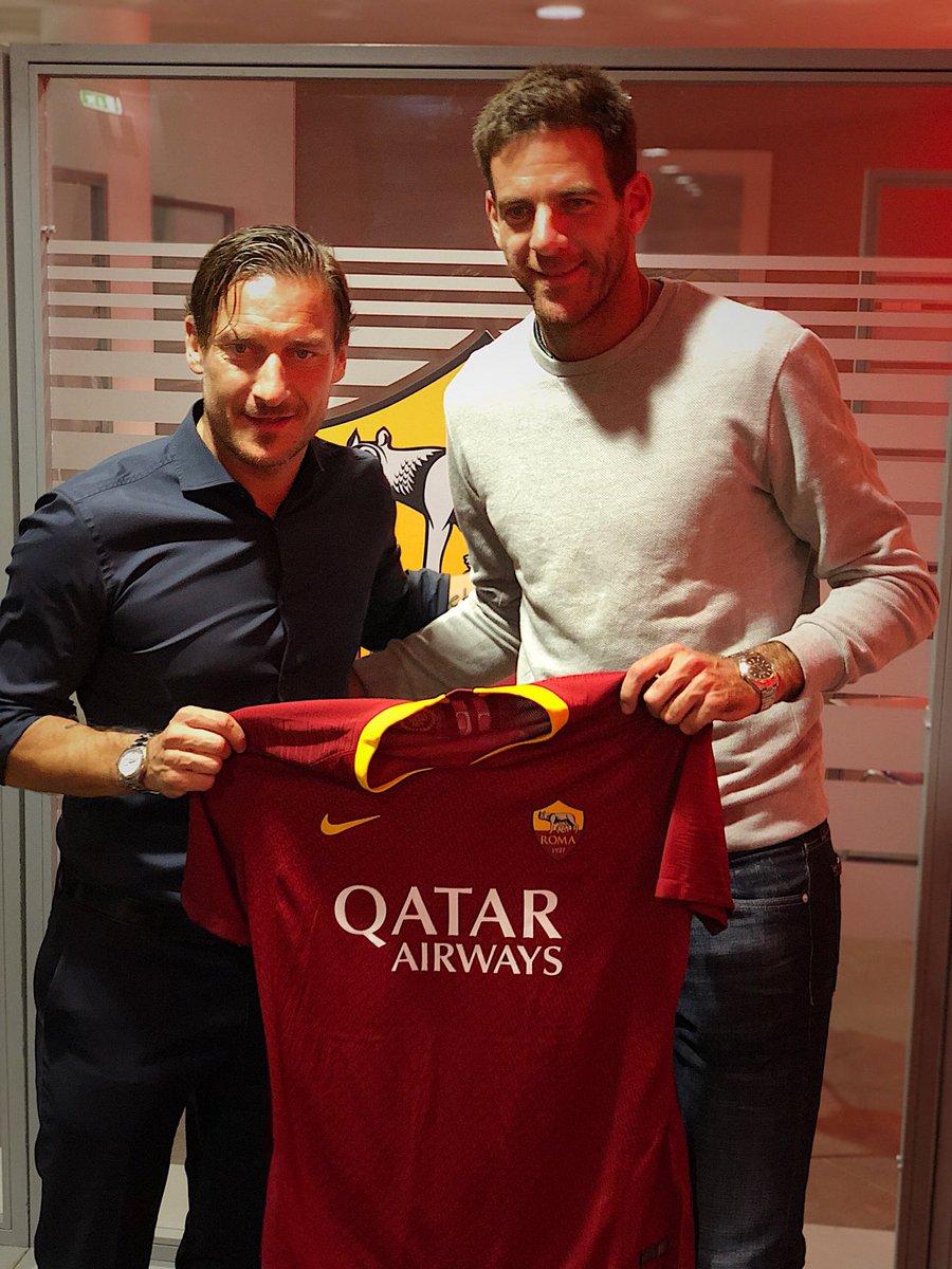 Dos grossos @Totti @delpieroale 🇮🇹⚽️