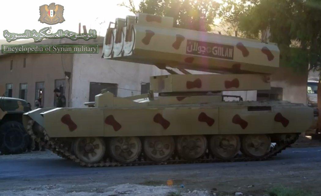 سوريا تميط اللثام عن راجمه Golan 1000  DdGziPuXkAYS_rr