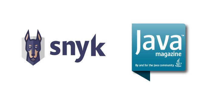 image of snyk and java magazine