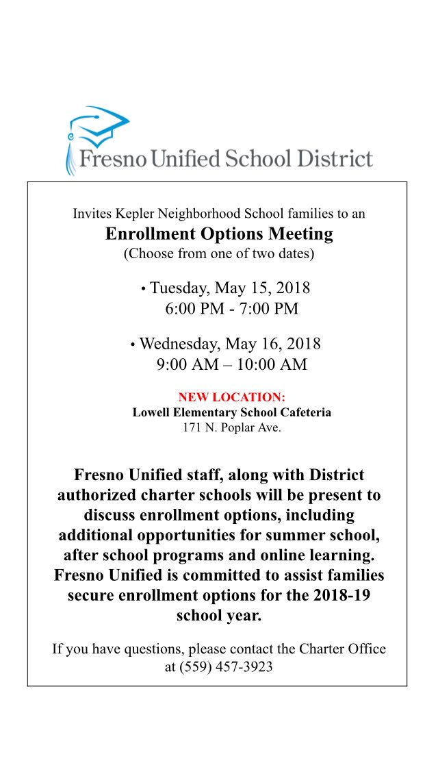 Fresno Unified is moving forward with holding parent meetings May 15 & 16,  despite any email you may have received from your child's school.pic.twitter.com/  ...