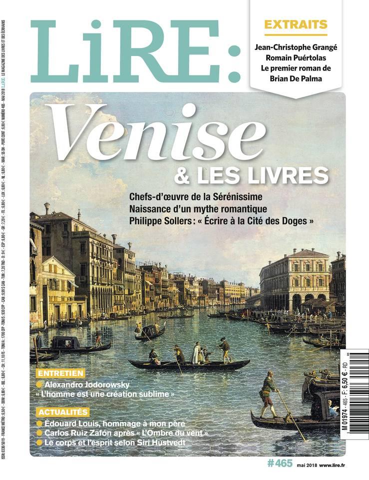 🇫🇷 Venise & Les Livres (Une magazine Lire daté Mai 2018 + dossier d'une douzaine de pages)