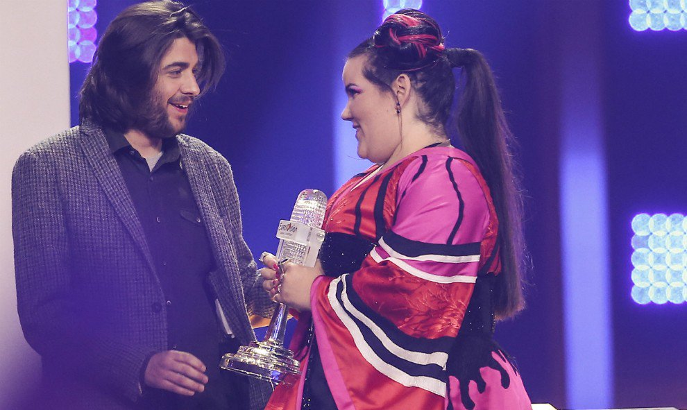 Netta y Salvador Sobral, en Eurovisión 2018