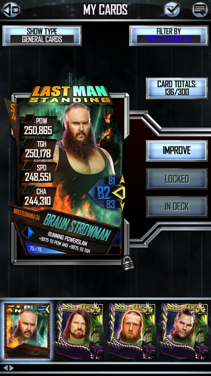 ... a card barely higher than a heroic pro...... Shoutout to @WWESuperCard  for failing thousands of people but as long as we give you money fuck us  right?