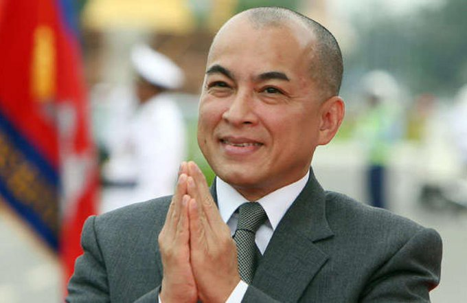 Happy 65th Birthday to His Majesty King Norodom Sihamoni!