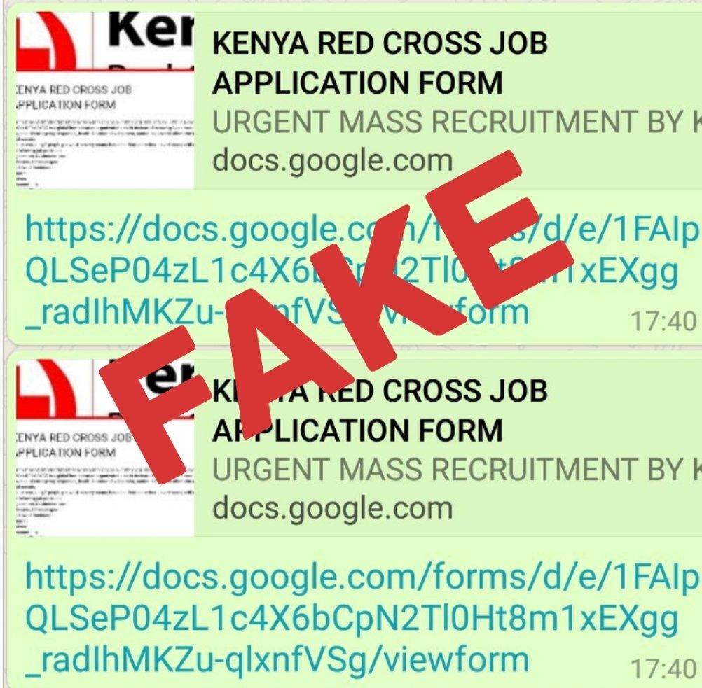 Kenya Red Cross on Twitter: