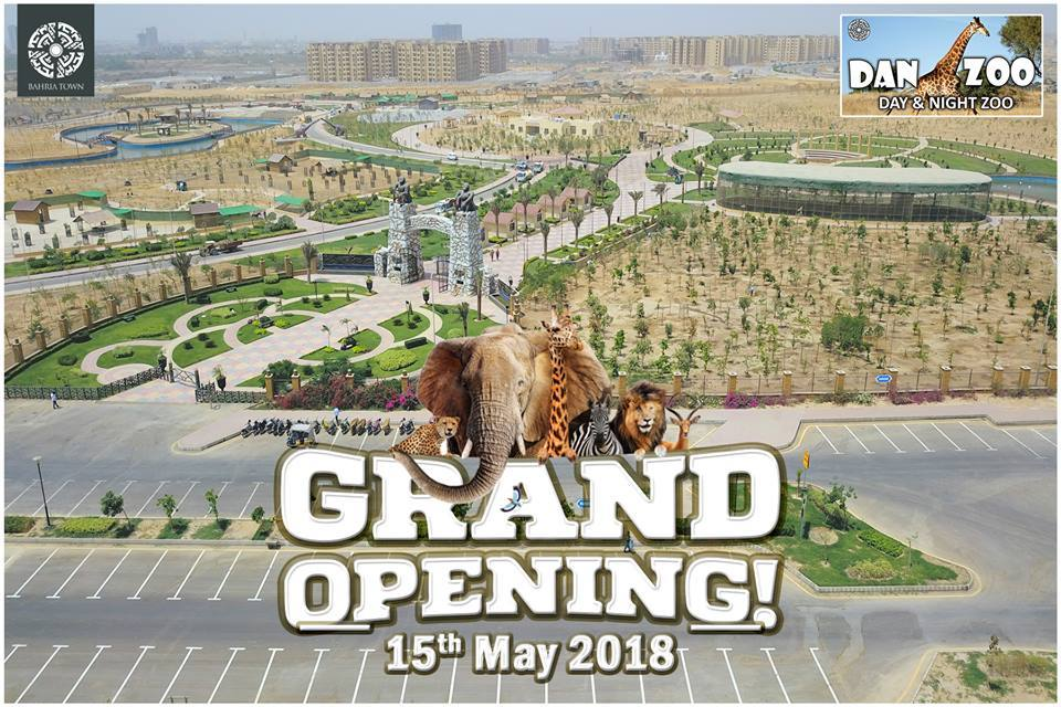 Sbmpk on twitter bahriatownoffic bahria town karachi announces note entry strictly by invitation bring your invitation cards danzoo will be opening for public on 16th may 2018picitterfoan3ktloy stopboris Image collections