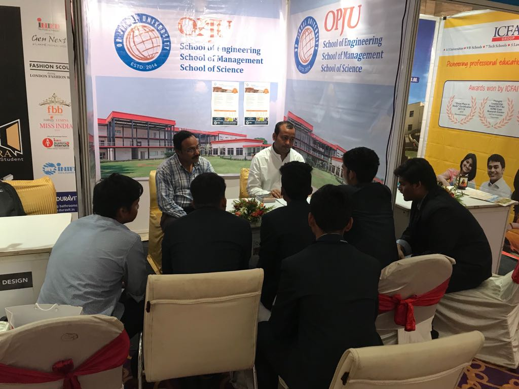 Glimpses of Career &amp; Admission fair 2018 - Bhubaneswar. Thank you, Bhubaneswar, India for your warm welcome and enthusiastic responses.  #OPJU #CareerFair #Bhubaneswar<br>http://pic.twitter.com/7X8TEIlqzl