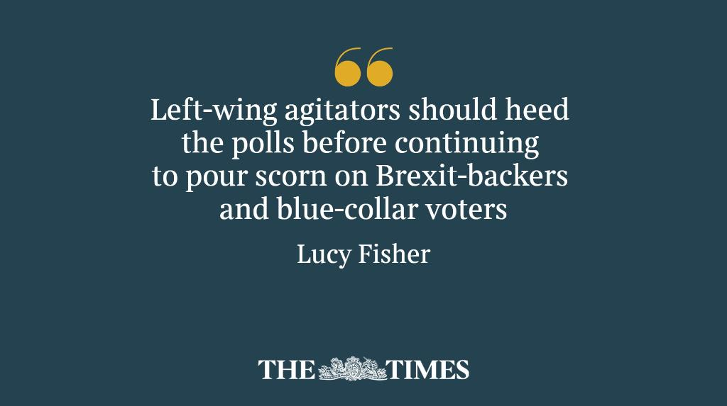 Insults like 'gammon' and 'centrist dad' will only hurt the Corbynites, writes @LOS_Fisher https://t.co/yB16VEffTW https://t.co/8zuiS6gbTw
