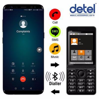 Detel D1 Dezire Bluetooth Dialer Feature Phone Launched at Rs. 1099