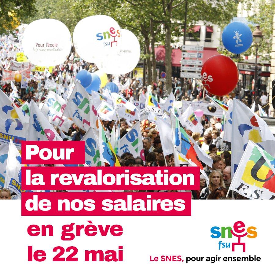 Grève unitaire (9/9 fédérations syndicales) de la Fonction Publique le 22 mai - Page 3 DdJANrAXkAAzh5W