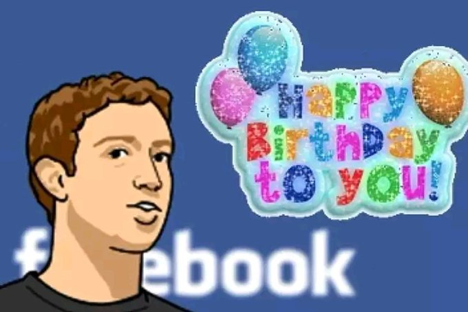 birthday Founder zuckerberg