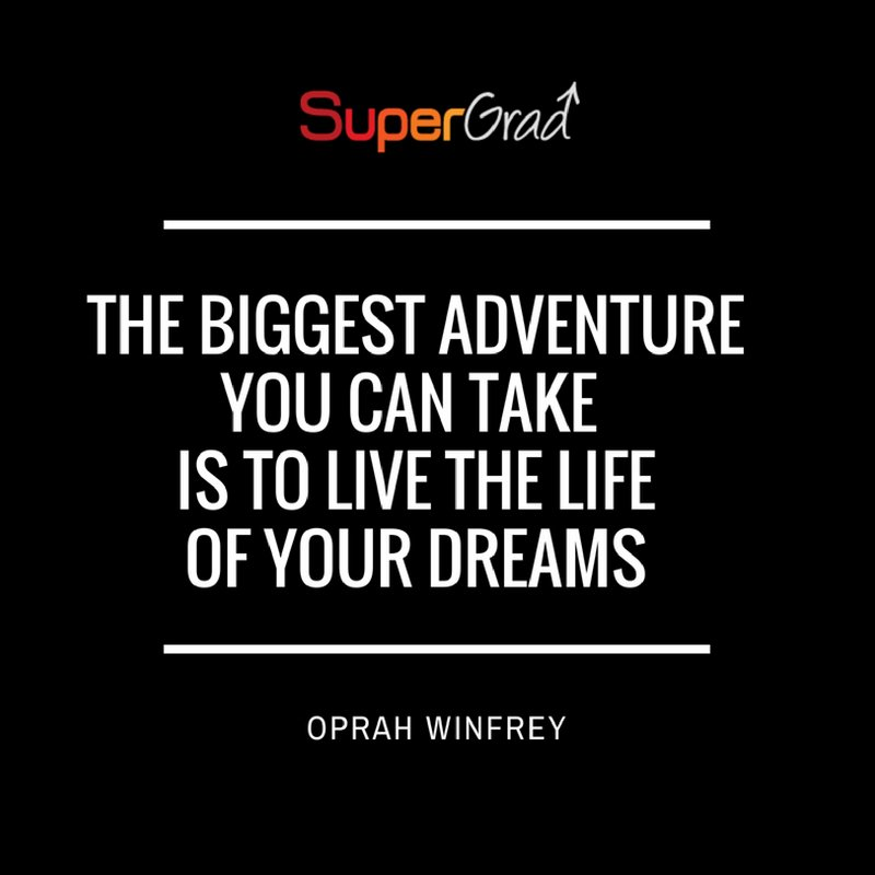 test Twitter Media - A bit of #mondaymotivation for you.  If you dream about a certain type of life for yourself, go out there and get it!  It's there for the taking #graduate #graduatejobs #career #london #recruitment #sales #SuperGrad https://t.co/poYY4QZIhM