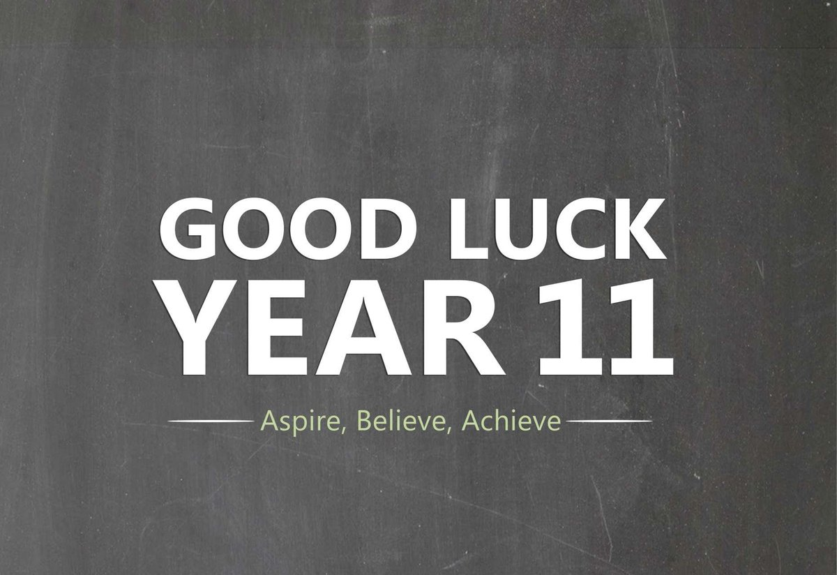 GCSEs started in earnest today with Photography and RE...good luck to all our Year 11 students throughout the exam period #GCSEs2018 #YouGotThis #DontStressDoYourBest
