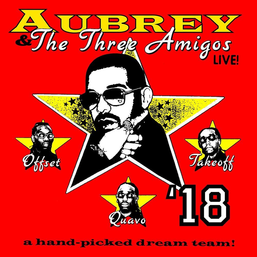 .@Drake and @Migos confirm The Aubrey and the Three Amigos Tour. https://t.co/wpKIZUfkYw https://t.co/V6fEMXhnYR