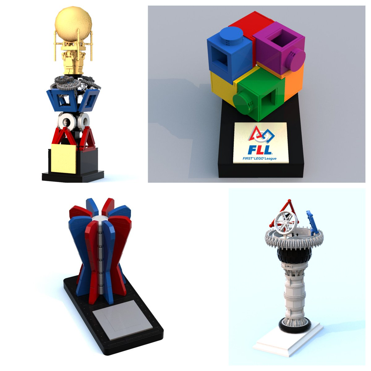 Check Out The Contest To Design Next FIRSTR LEGOR League World Festival Trophy Learn More Legobuild DesignYourCoolestTrophy
