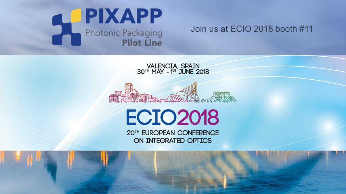 Pixapp Pilot Line On Twitter Join Pixap At Ecioconference 2018 Packagedintegratedcircuit1jpg Initiative Of The Lines In Framework Photonics Integrated Circuits Assembly And Packaging Visit Us Booth 11pic Zxnl7otoe6