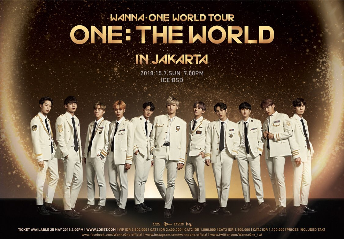 Ice Indonesia On Twitter Wanna One World Tour The In Like Instagram 100 Real Its Confirmed To Make A Stop Jakarta With 15 July 2018 At Convention Exhibition