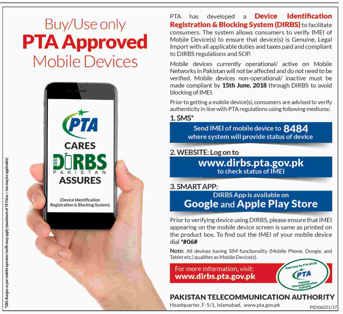 Pta Mobile Tax