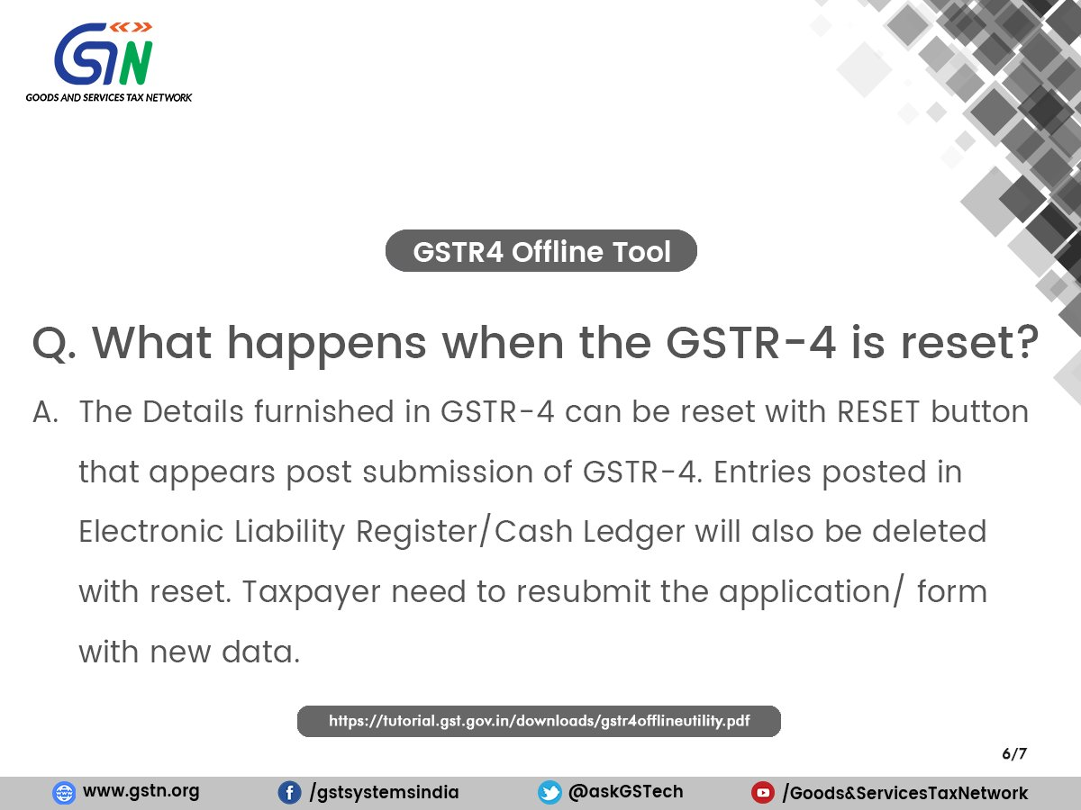 gstr-4: hashtag on Twitter