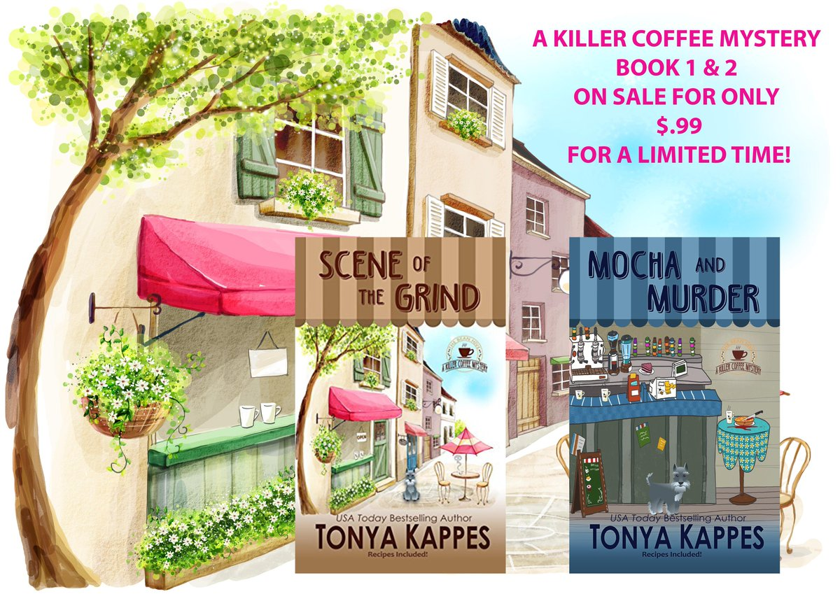 Tonya Kappes On Twitter AMAZONDEAL A KILLER COFFEE MYSTERY SERIES