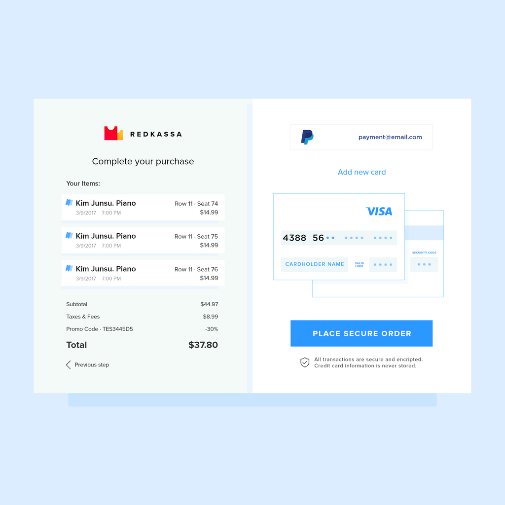 galaktionoff on twitter daily ui 002 credit card checkout