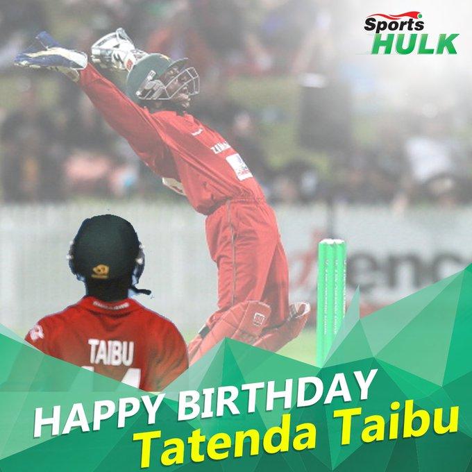 Happy birthday to Zimbabwe\s Tatenda Taibu!