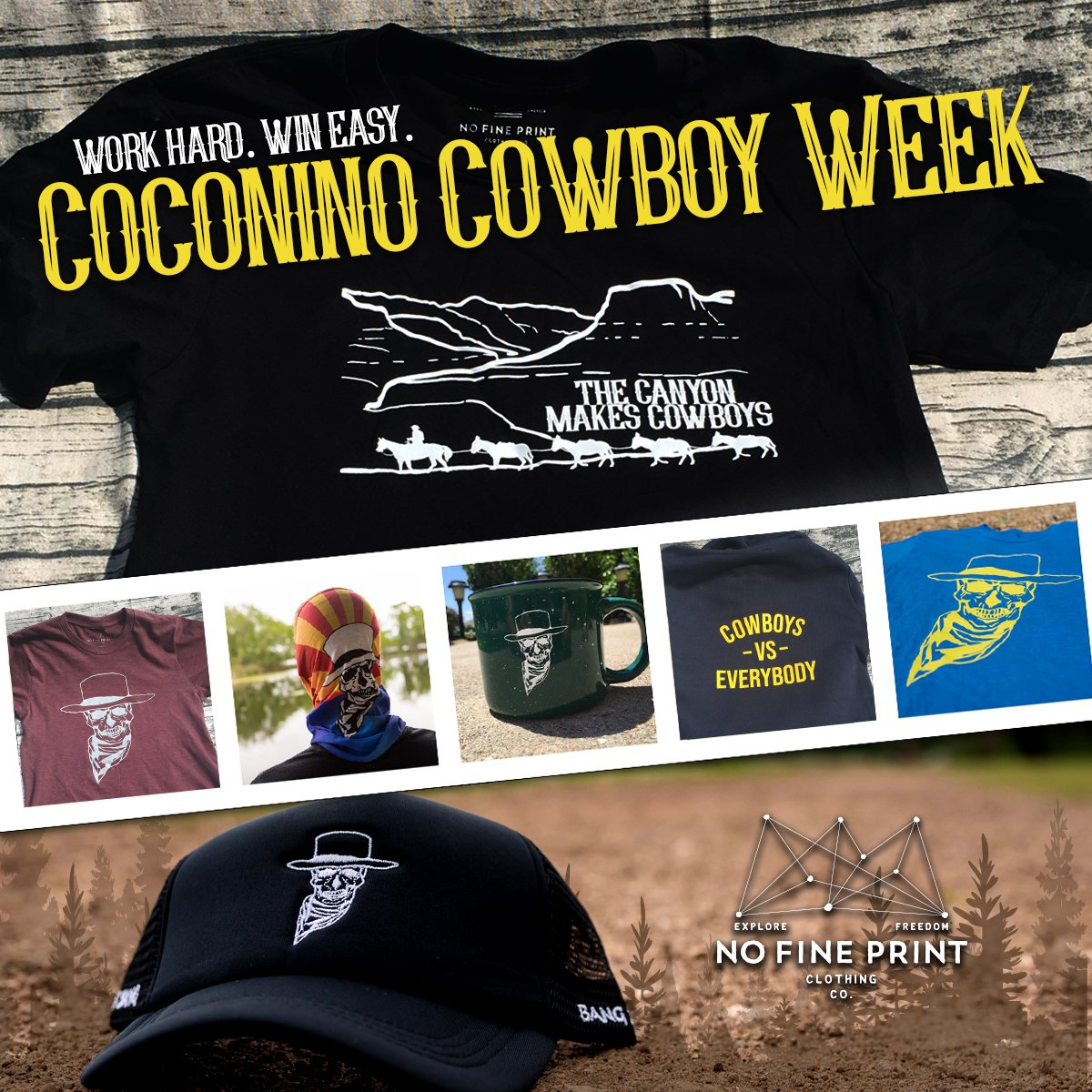 It s all in the online store and a new item will be highlighted each day  this week. Check it out. http   nofineprint.cc coconino   pic.twitter.com 6dQsu8KNJ9 59db245cd