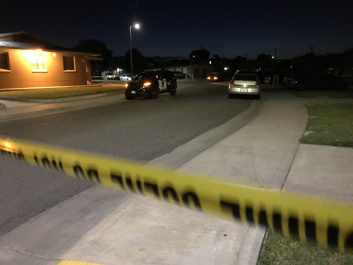 9550ae357f7178 5 year old girl included in three shot and killed last night on 11th and  Bellview in Stockton