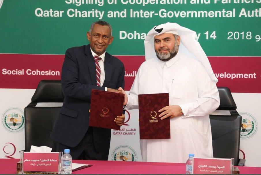 Igad Secretariat On Twitter Igadsecretariat Signed A Coopern