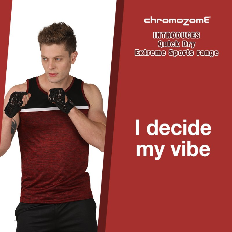 #CWednsdy #contest Q: #Success, for #fitness, #life or #work means getting out of your #comfortzone? Or by being inside it?  Answers by 2pm today, one #free #tee to be won!  This image, CMZ Quick Dry range of vests, for comfortable workouts, in the shops now!<br>http://pic.twitter.com/0GEvntWgpU