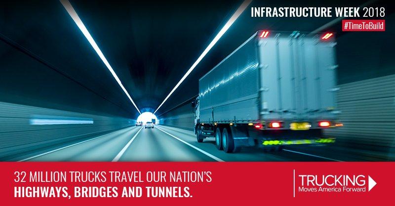 TruckingFWD's photo on Infrastructure Week