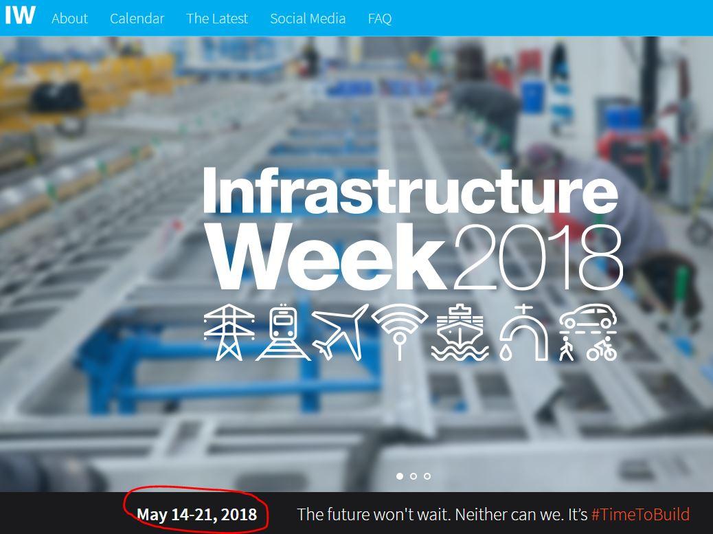 Matthew Gertz's photo on Infrastructure Week