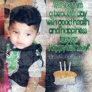 Happy birthday little prince