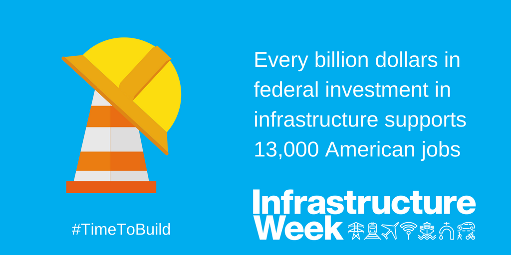 Timmons Group's photo on Infrastructure Week