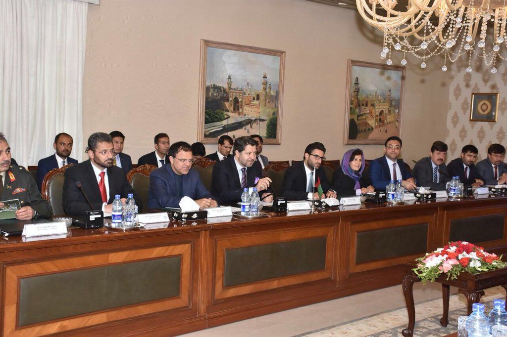 Following the agreement on the 7 principles by senior leadership, we finalized Afg-Pak Action Plan for Peace and Solidarity (APAPPS) with HE FS Janjua. If/once implemented fully and effectively, it will have a huge impact on improving the overall situation on the ground in Afg.