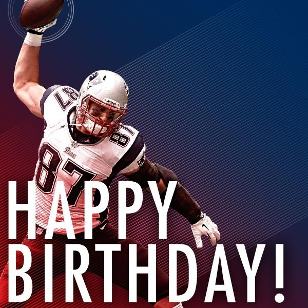 Happy 29th Birthday Rob Gronkowski!