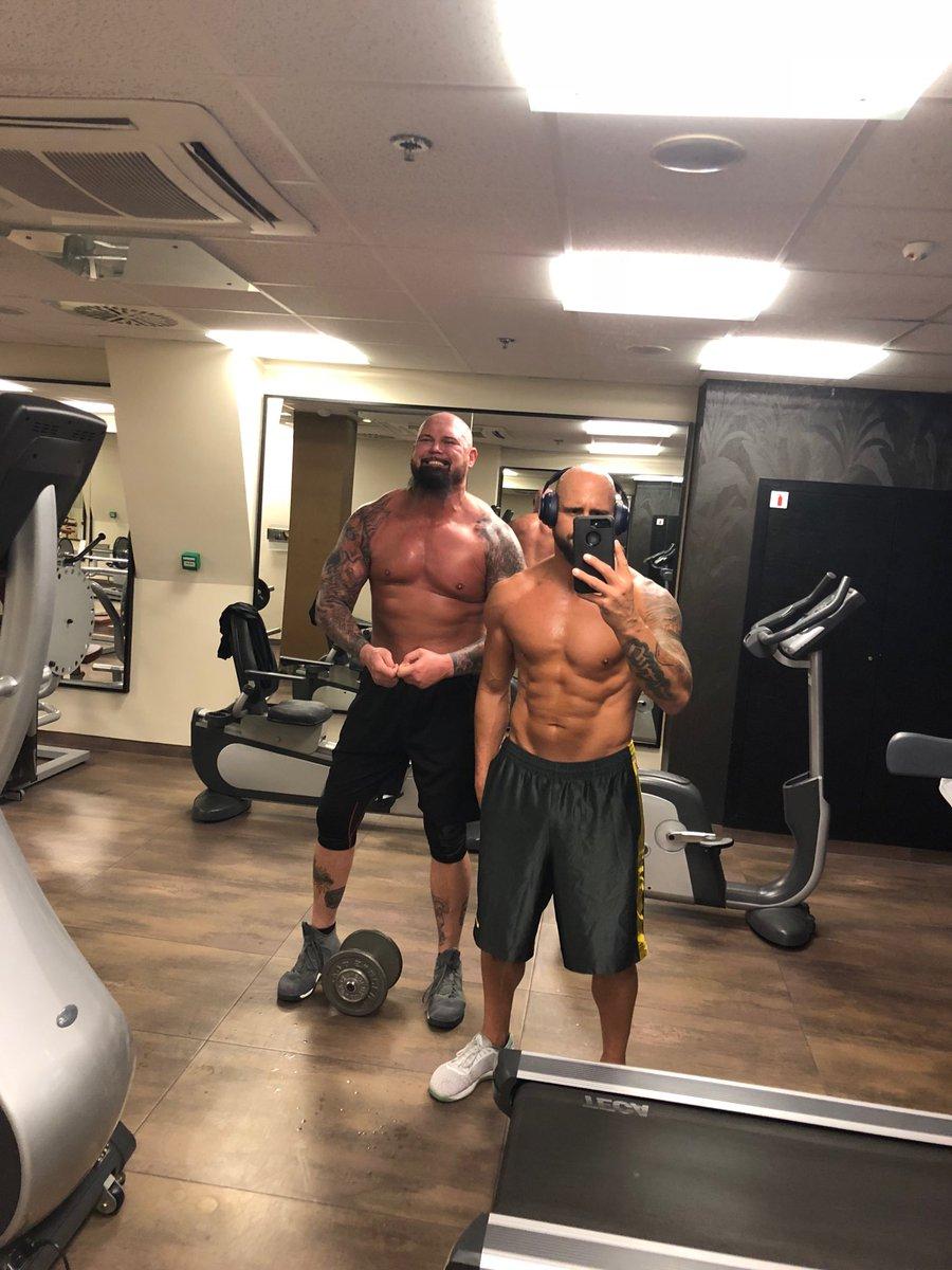 The bbbbbbbbbboooooys in Budapest! Pre #WWEBudapest pumpski! #brothermesoftly