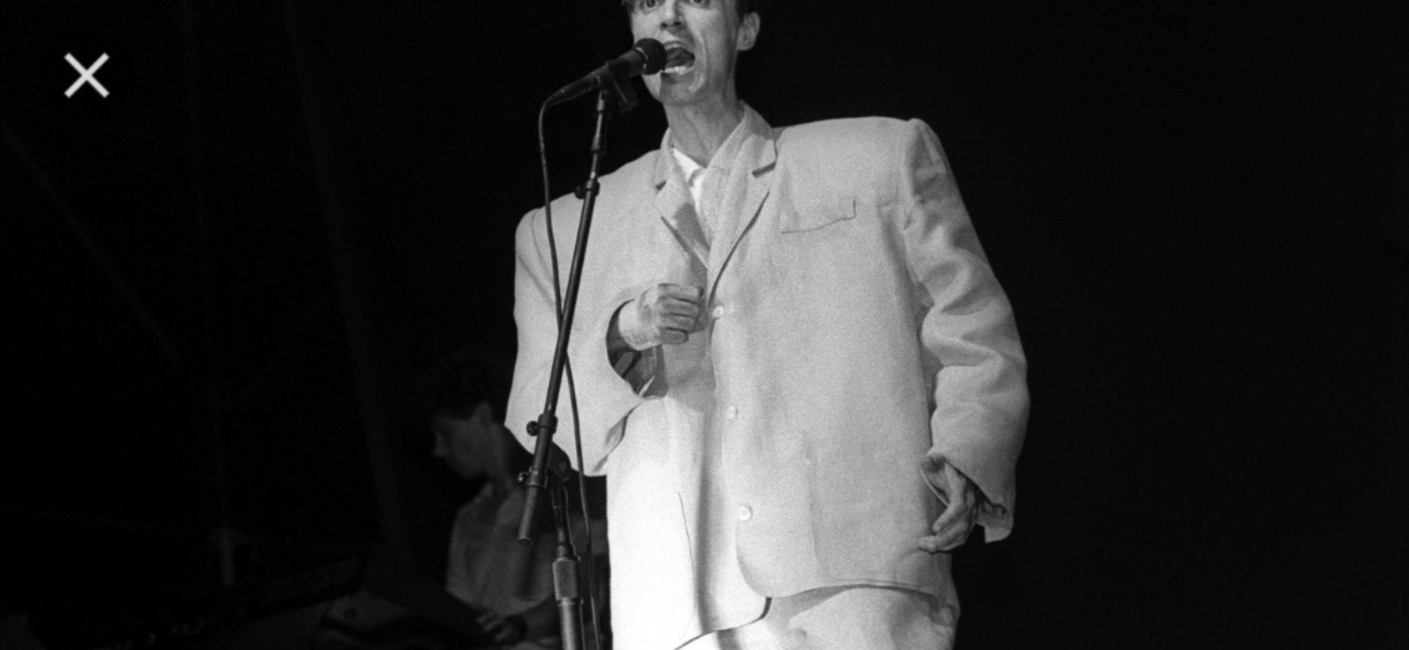 """TonyclementCPC \""""Happy birthday David Byrne!"""