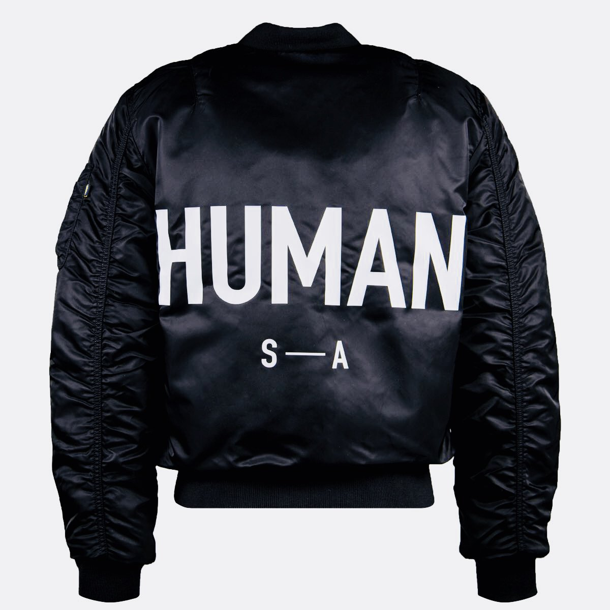 HUMAN MA-1 | You are here. You are free | AVAILABLE NOW  Link: