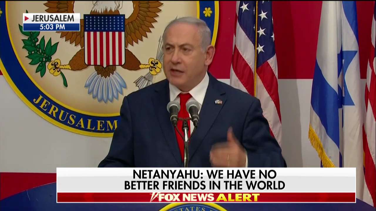 ".@netanyahu: ""We are in Jerusalem and we are here to stay."" https://t.co/7oi6eAuGIu"