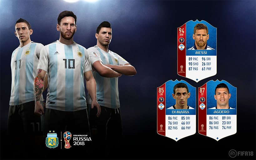 Image result for argentina fifa 18