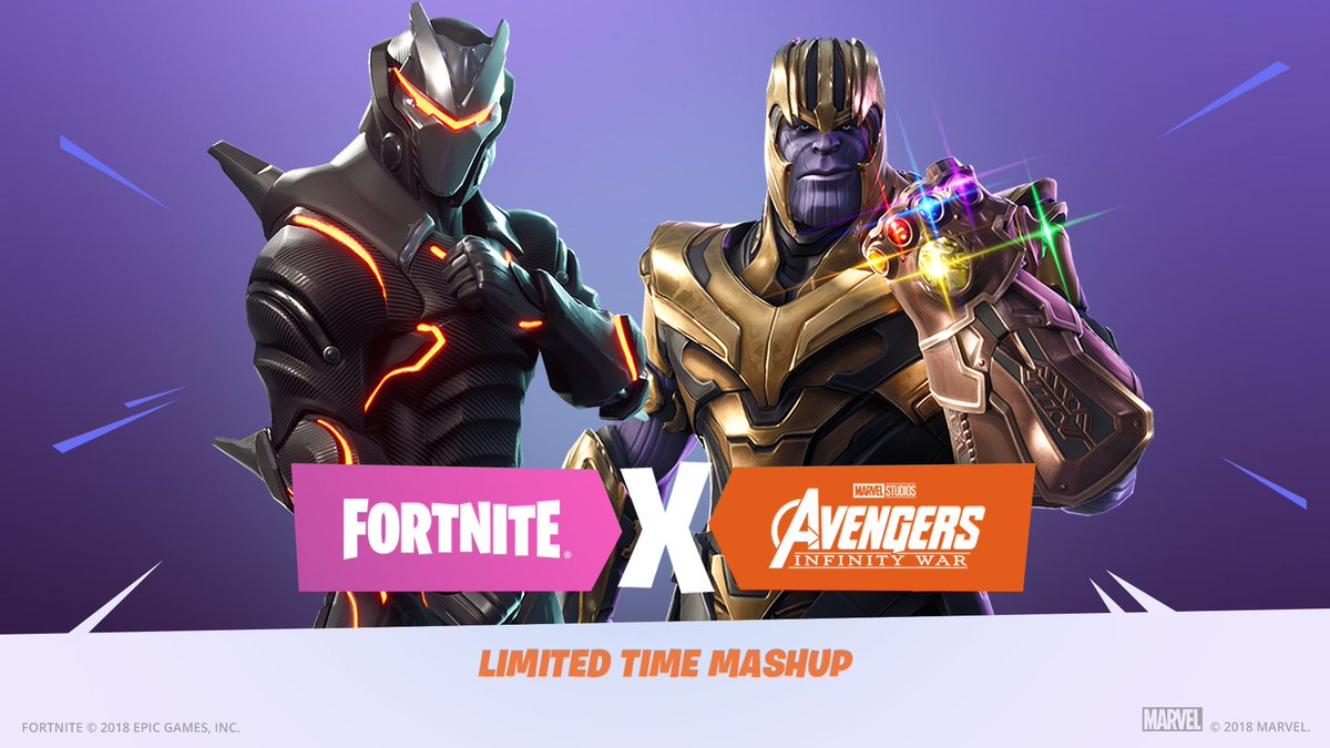 Fortnite On Twitter The Infinity Gauntlet Limited Time Mashup Ends