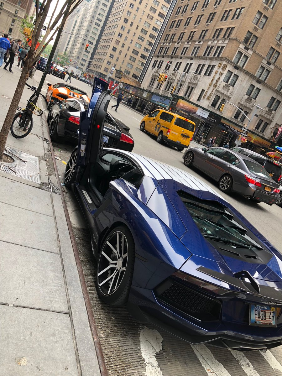 Lamborghinis lined the street outside a massive NYC cryptocurrency conference, but it turns out they were only staged rentals