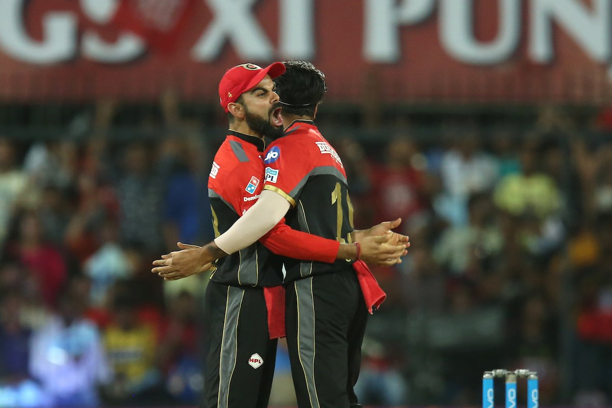 #KXIPvRCB - Royal challengers brutally destroy Kings XI