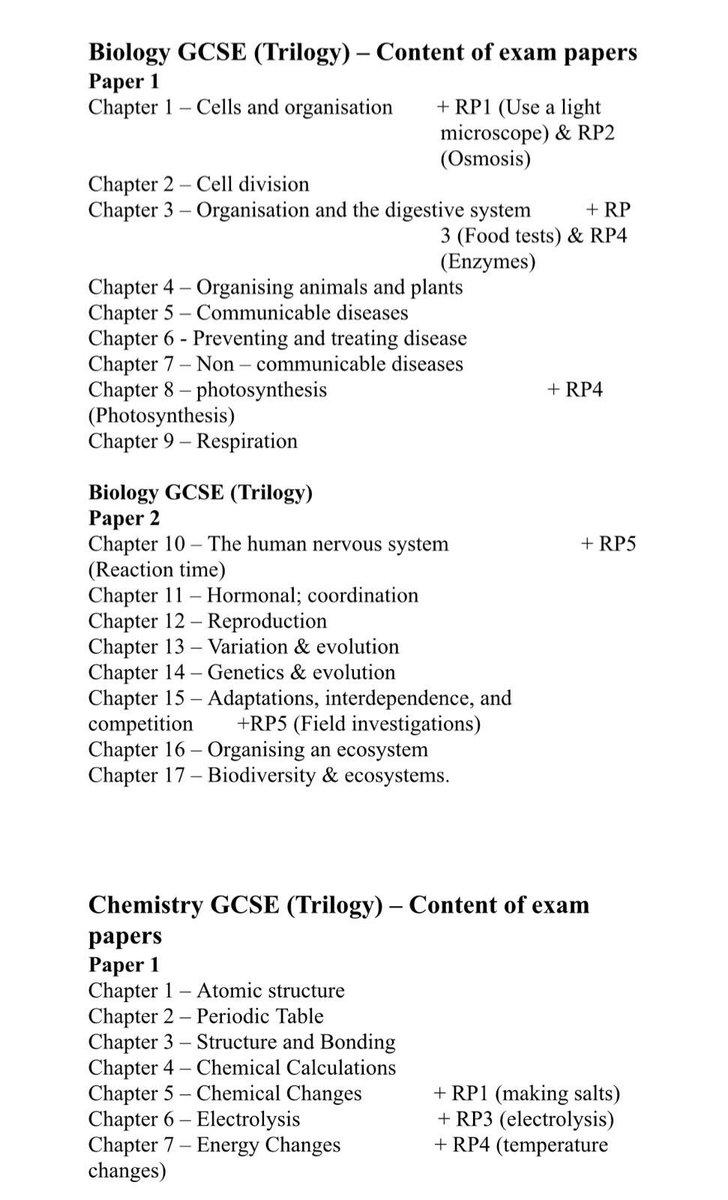 Chapter 17 Test Biology