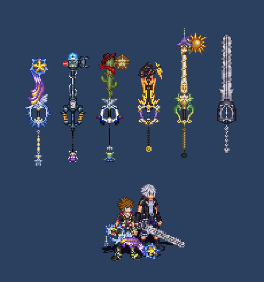 Kingdom Hearts The 8 Best And 7 WORST Keyblades  TheGamer
