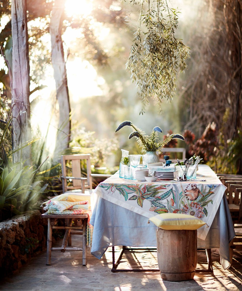 Zara Home On Twitter Linen Colorist Summer Tablesetting Goals