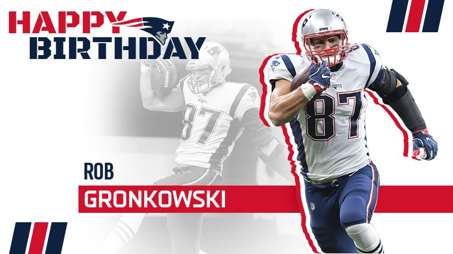 Celebrate all that is Gronk on his 29th birthday  : :